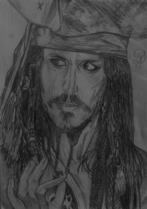 Johnny Depp by MD